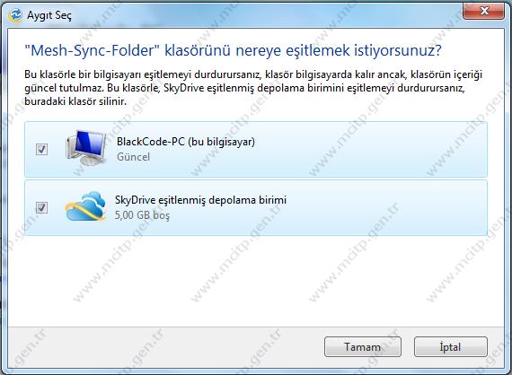Windows Live Mesh ile Bilgisayarlar arasında klasörleri eşitleme