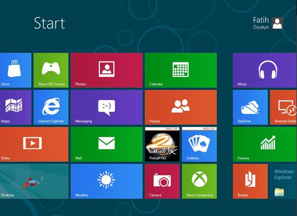 Windows 8 Consumer Preview (Beta) Kurulumu