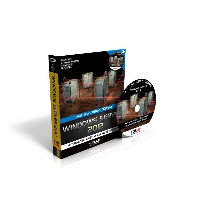 Değerli Ekip Üyelerimizden Windows Server 2012 Kitabı.