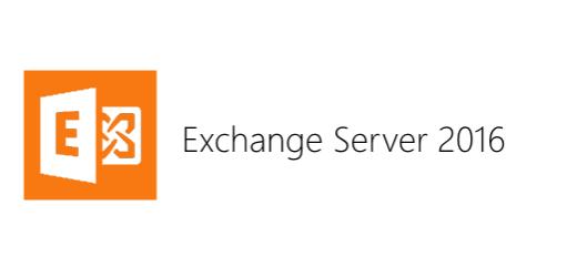 Exchange Server 2016 Kurulumu Part 1