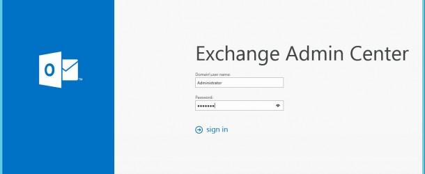 Exchange Server 2016 Lokal Sertifika olusturma