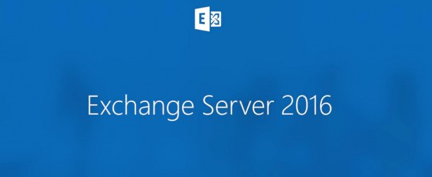 Exchange Server 2016 Recovery Database