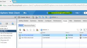 "VCenter 6.5 Single Sign-On ekranında ""Use Windows Session authentication"" aktifleştirme."