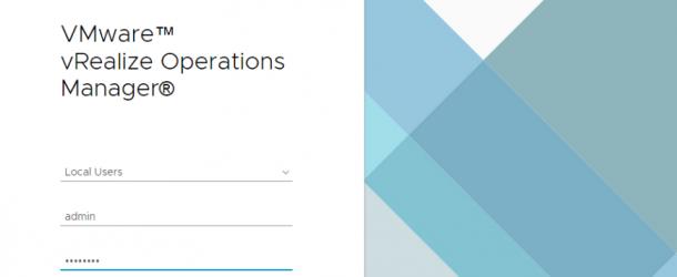 VMware vRealize Operations Manager VROPS aracı ile Sunucu kaynakları izleme.
