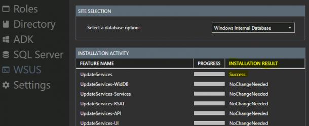 SCCM ConfigMgr Prerequisites Tool 3.0.2 kurulumu