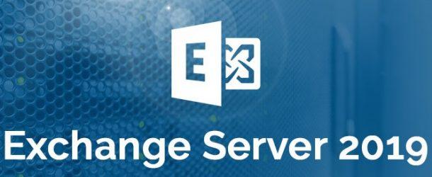 Exchange Server 2019 – Preview Kurulumu