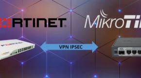 Mikrotik-Fortigate IPsec VPN